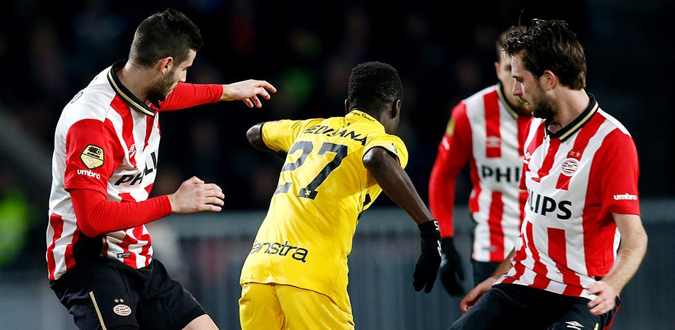 Zaledwie remis PSV z Roda JC 1:1